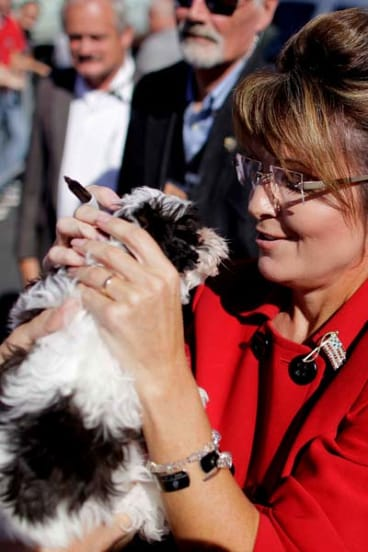Sarah Palin ... lent her support to the Tea Party movement.