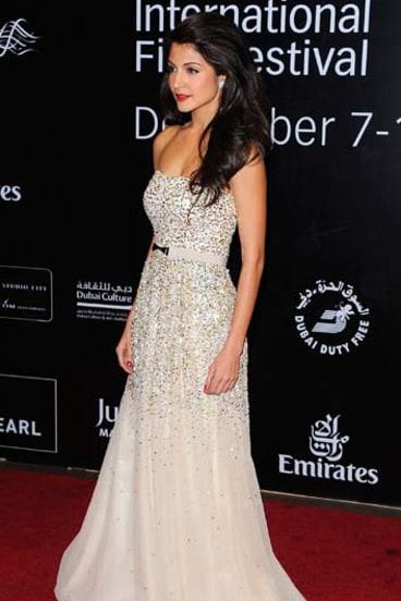 Inspiration ... actress Anushka Sharma.