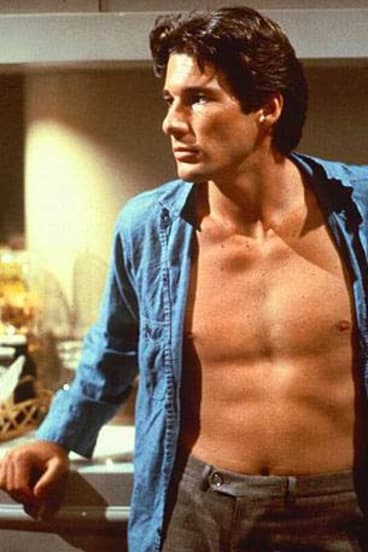 Richard Gere in the film American Gigolo. But women paying men for sex is not progress.