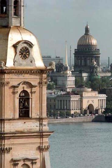 St Petersburg.