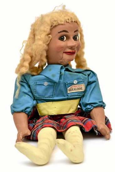 This Geraldine Gee doll sold for $504.