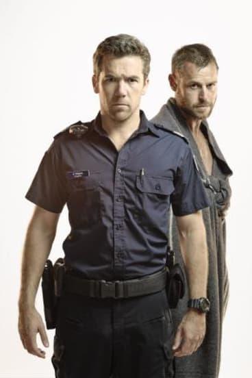 Australian stars: Patrick Brammall and Rodger Corser.