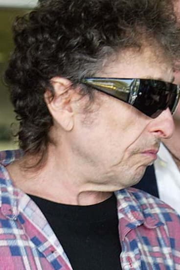 Bob Dylan . . . plans for an extra show at Byron Bay Bluesfest in jeopardy.