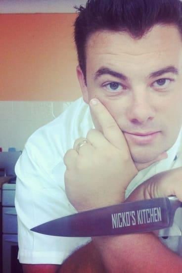 Rob Nixon of Nicko's Kitchen.
