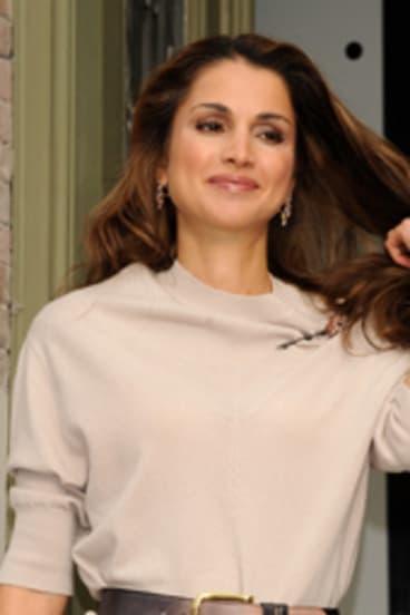 A symbol of progressive values: Jordan's Queen Rania.