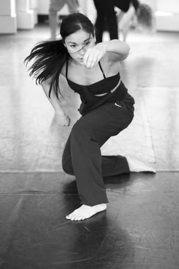 Sinuous movements: Marnie Palomares.