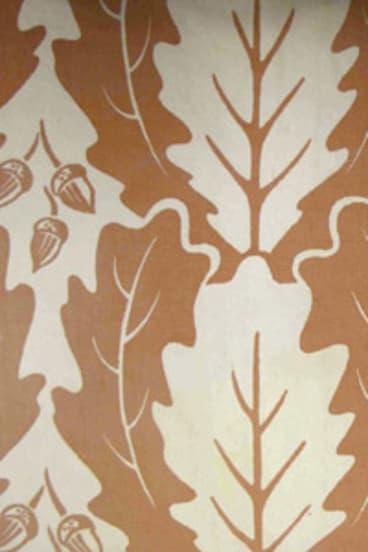 Burke's 'Oak Leaf' design.