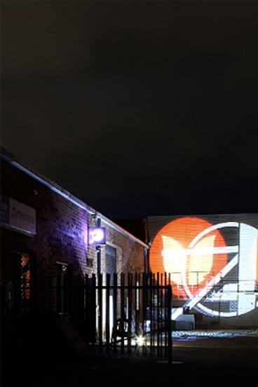 A 'silent disco' in Northbridge.