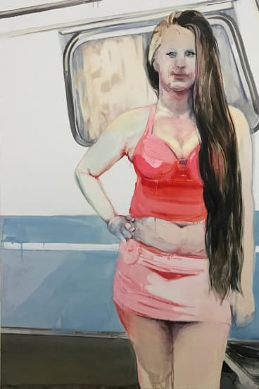 Fiona McMonagle, <i>Princess</i>, 2017. Courtesy of the artist and Sophie Gannon Gallery, Melbourne, Hugo Michell Gallery, Adelaide and Olsen Gallery, Sydney.
