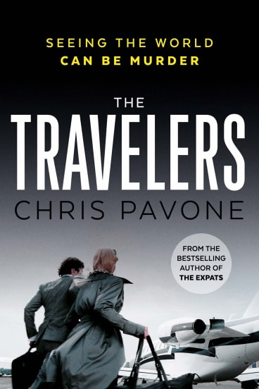The Travelers, by Chris Pavone, is about a magazine writer who is being blackmailed.