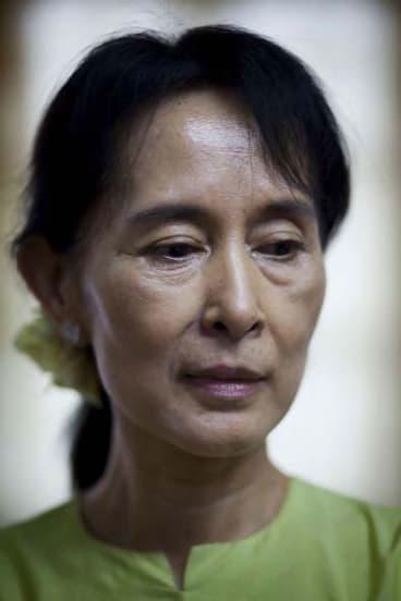 "Aung San Suu Kyi: ""I can only do what I feel I need to do."""