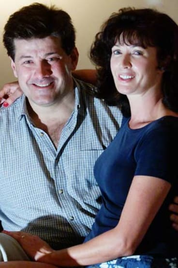 Michael and Lyndy Nerandzic in 2000.