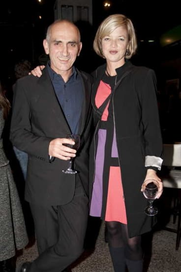 Ex factor: Sian Prior with her former partner, musician Paul Kelly, in 2009.