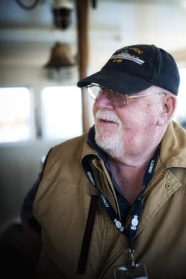 Still waters: Ex-Vietnam veteran Norm Whitburn knows the toll post-traumatic stress disorder takes on sufferers.