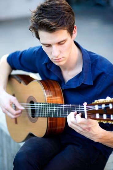 Guitarist Callum Henshaw