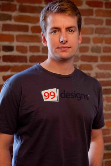 Patrick Llewellyn from 99designs has global ambitions.