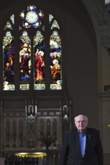 Father Bob, still praying.