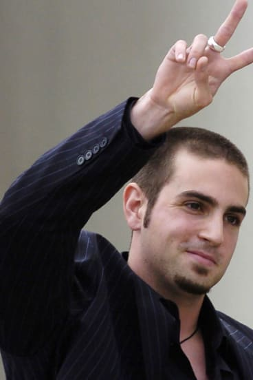 Wade Robson in 2005.