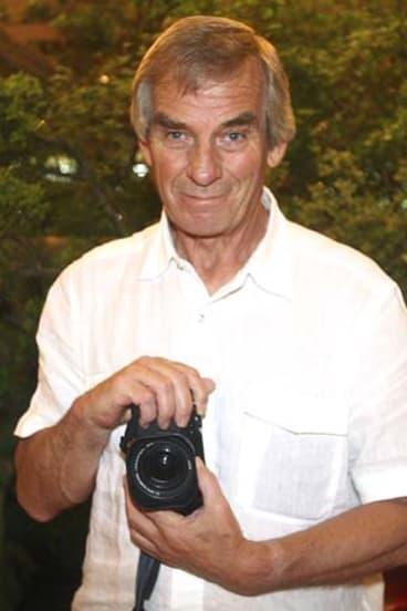 ''Super Click'' ... Robert Whitaker mixed paparazzi skills with artistic vision.