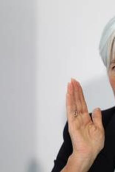 International Monetary Fund managing director Christine Lagarde says Europe's debt crisis poses a critical risk to the global economy.