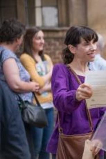 Sally Hawkins, left and Asa Butterfield in <i>X+Y</i>.
