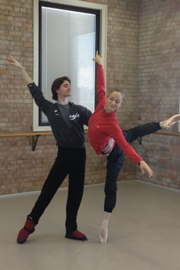 Bolshoi principal dancers Vladislav Lantratov and Ekaterina Shipulina.