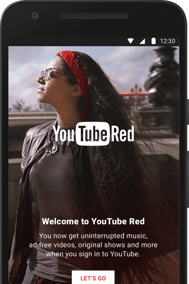 YouTube Red benefits apply across the site and all YouTube apps.