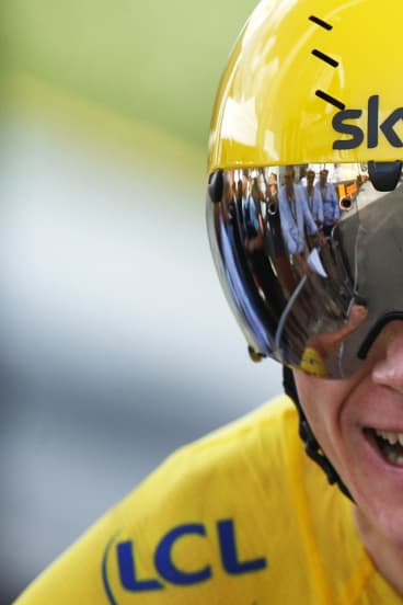 Champion cyclist Chris Froome.