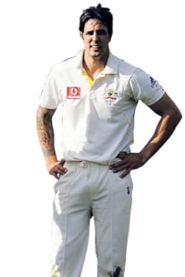Mitchell Johnson should have been sent back to the Sheffield Shield after a poor performance in the Brisbane Test.