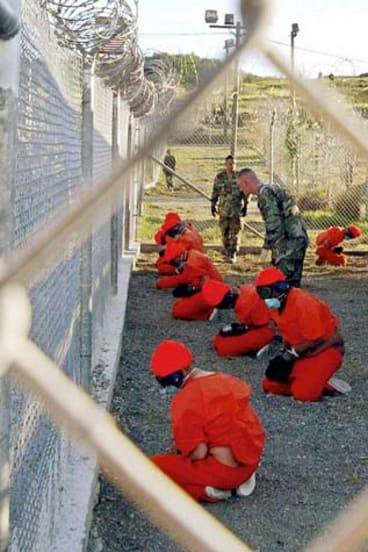 Access denied ... media have argued it was easier to visit Guantanamo Bay (pictured) than to gain access to an Australian immigration facility.
