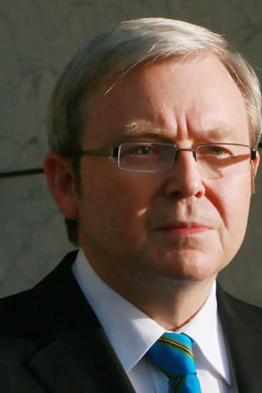 Kevin Rudd: The Prime Minister's workaholic attitudes are under fire.