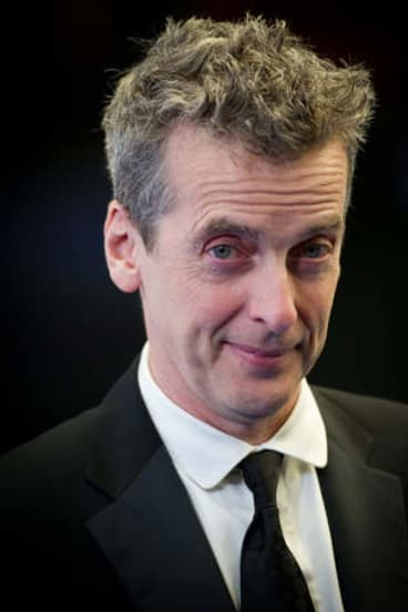 The new Doctor Who: Peter Capaldi.