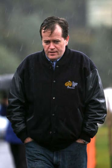 The then AWU national secretary in Beaconsfield during the mine rescue.