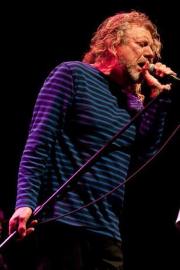 Robert Plant will tour Australia next year.