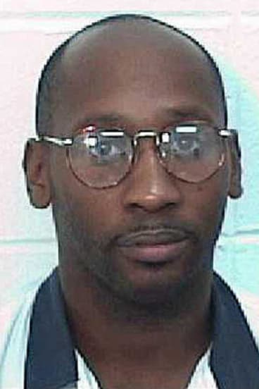 This undated handout image from  the Georgia Department of Corrections shows death row inmate Troy Davis.