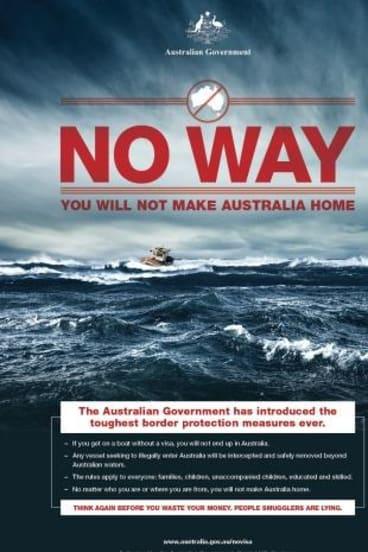 """The """"No Way"""" campaign."""