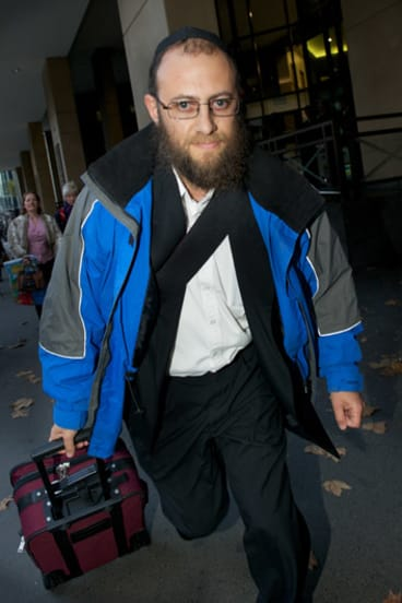 Jailed: David Cyprys worked as a security guard at the Yeshivah Centre.