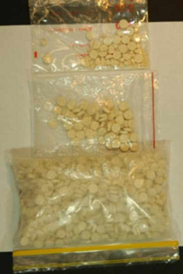 Police warn of bogus ecstasy pills.