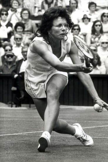 Champion ... Billie Jean King.
