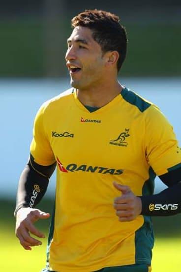 Hard-hitting centre Anthony Faingaa.