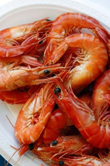 Presence of cholera bacteria ... the Australian Quarantine and Inspection Service rejected four shipments of cooked prawns from China and Thailand for failing to meet chemical and bacterial standards.