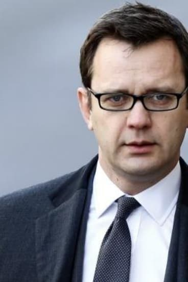 On-again, off-again relationship: former News of the World editor and prime ministerial adviser Andy Coulson.