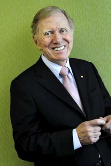 Soft side: Michael Kirby is a supporter of Voiceless.