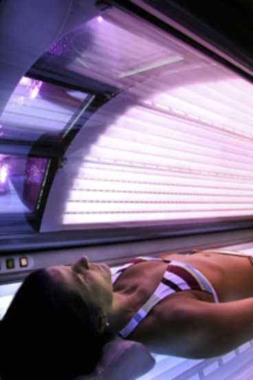 Young in danger . . . An international report on solariums confirms the cancer risks associated with the tanning devices and suggests the risks are higher for the under-30s.