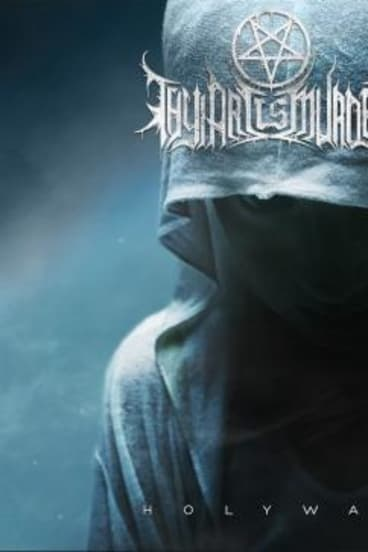 Replacement cover of Thy Art Be Murder's new album Holy War.