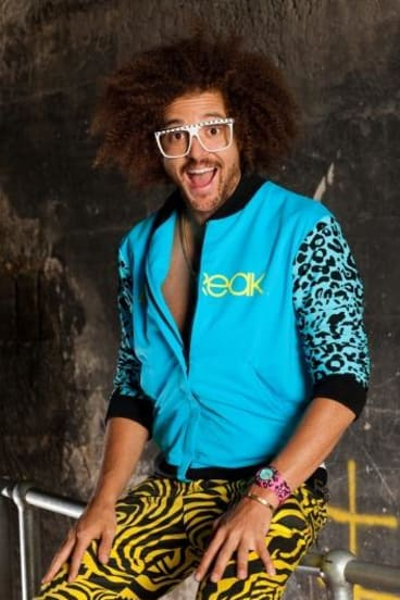 """Under fire: X Factor judge and singer Redfoo is feeling the wrath of the internet for his latest song which has been called """"the most sexist song of the year""""."""