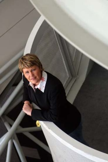 Fran Kelly in 2005 when she began her role in the breakfast slot for Radio National.