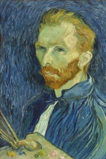 Vincent van Gogh, Self-portrait, 1889, oil on canvas, 57.8 x 44.5cm, National Gallery of Art, Washington, DC. Copyright courtesy National Gallery of Art, Washington.