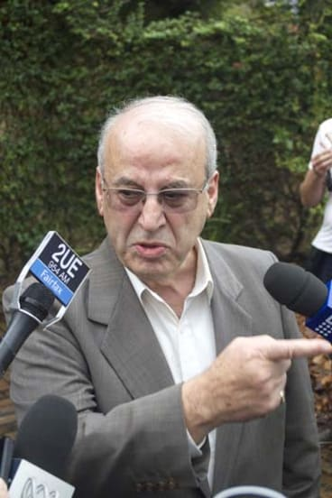 """""""Of course I'll be f---ing vindicated"""": Eddie Obeid."""