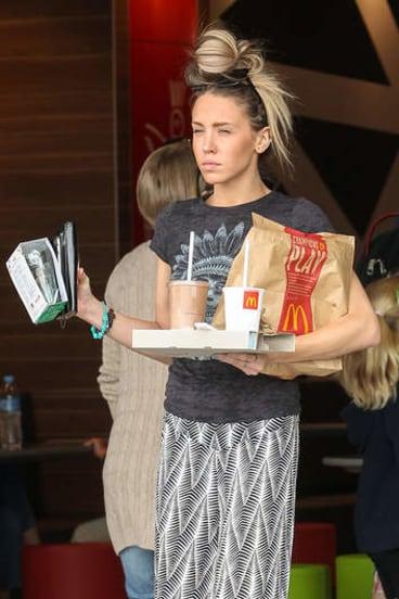 Living fast … Imogen Anthony, Kyle Sandilands' 22-year-old girlfriend.